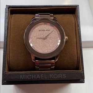 Michael Kors Kinleyl Brown Stainless Steel Watch